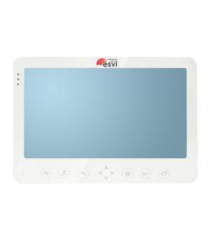 """EVJ-10 Цветной 4-x проводной 10"""" LCD TFT видеодомофон на две вызывные панели"""