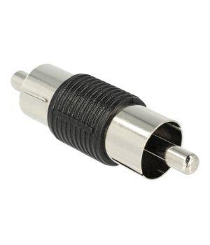 RCA-M переходник (папа-папа) для соединения кабелей